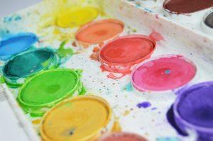 Akvarellivärit