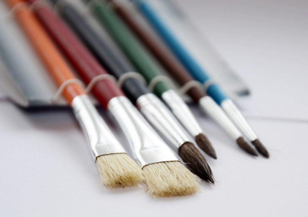 Sivellinopas öljy- akryyli -ja akvarelliväreille